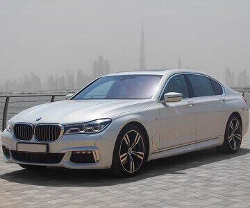 BMW 730 Li 2018 in white color