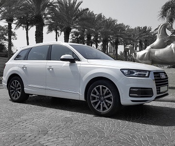 Audi Q7 New Shape 2017 white