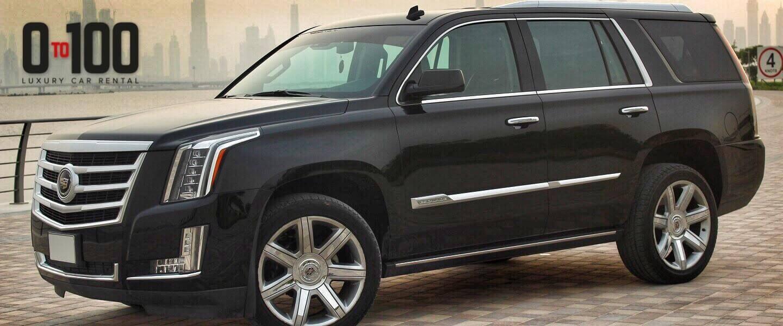 Cadillac Escalade in black