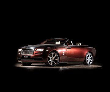 Rolls-Royce Dawn maroon