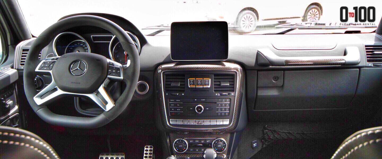 مرسيدس بنز G500 4x4 الداخلية