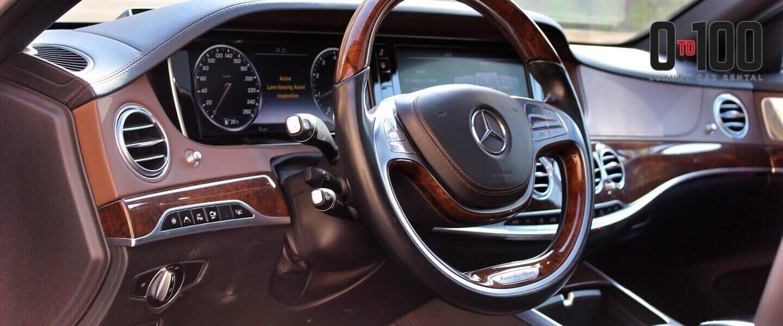 Mercedes-Benz S500 interior