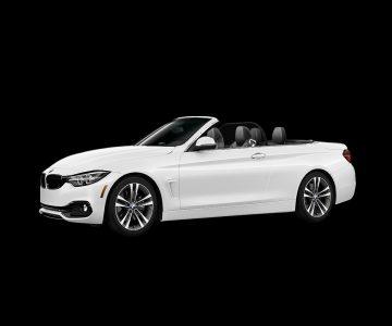 BMW 430i спорт-купе в белом
