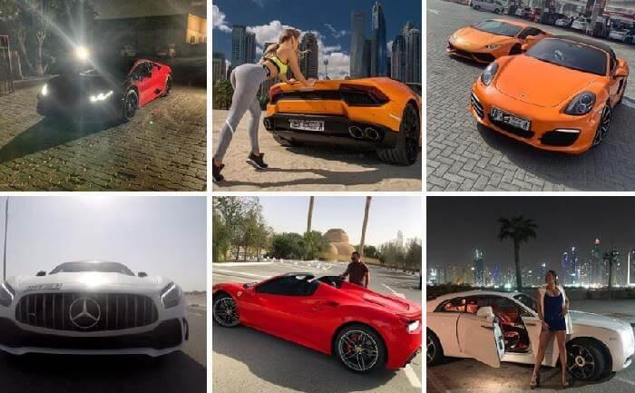 Прокат авто в Дубае