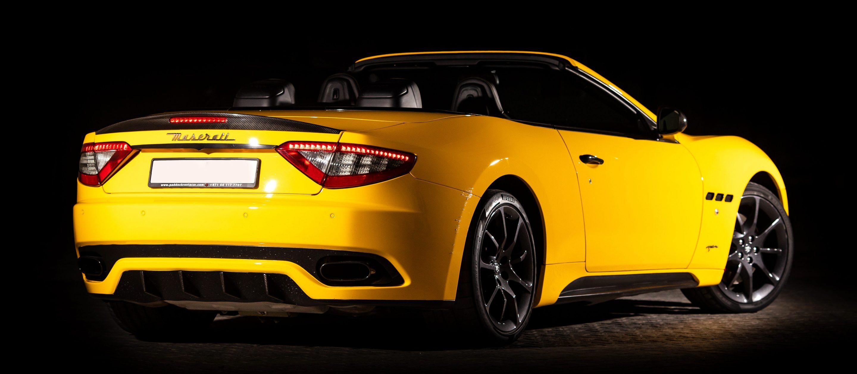 Maserati GranCabrio黄色款