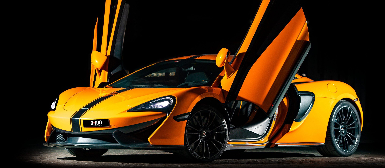 McLaren 570 in orange color