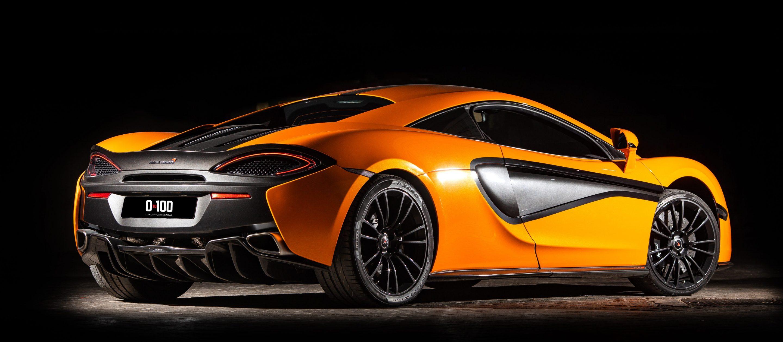 McLaren 570橘黄色款