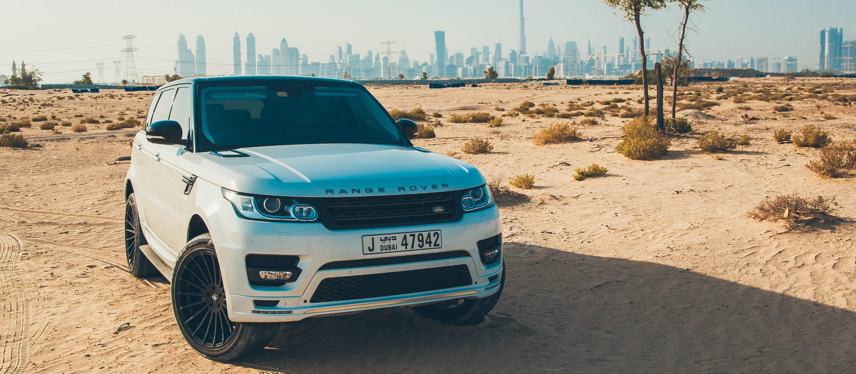 Range Rover Sport white color