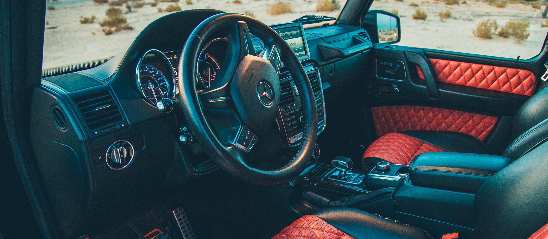 مرسيدس بنز G63 AMG الداخلية
