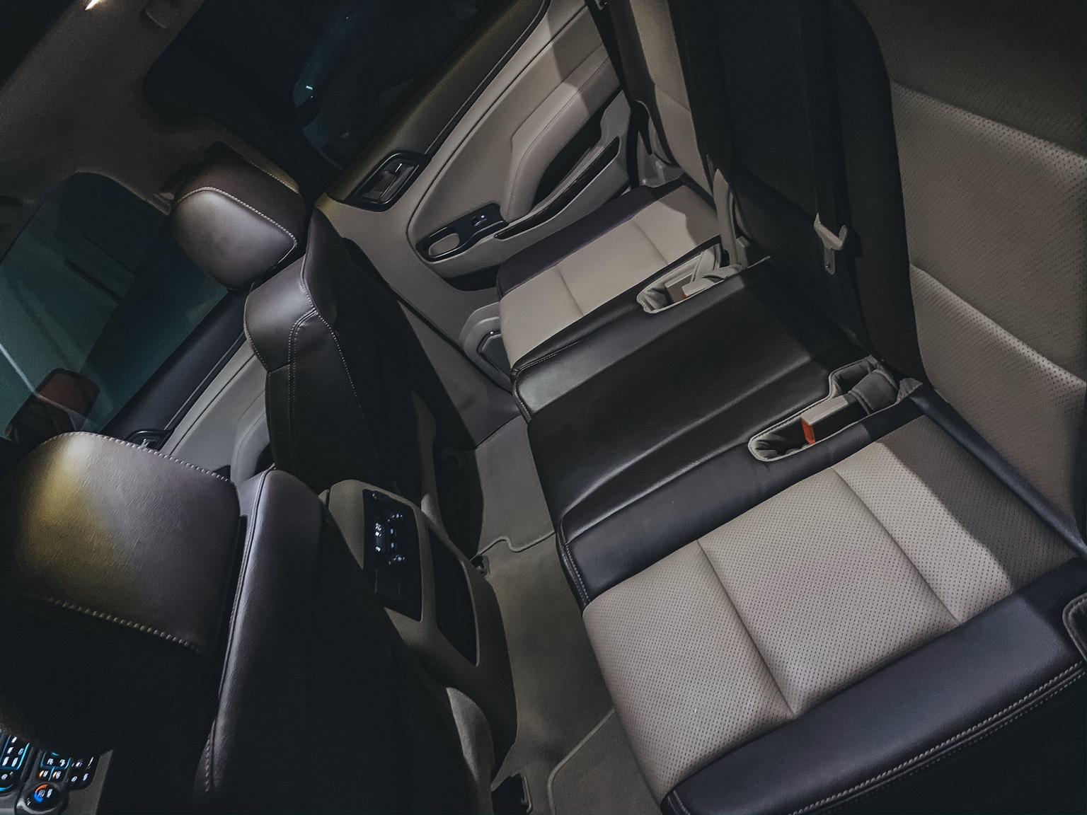 GMC yukon interior